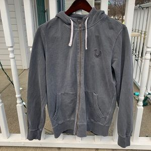 True Religion Hoodie Jacket Full ZIP Sz M